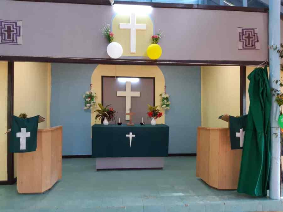 New church altar